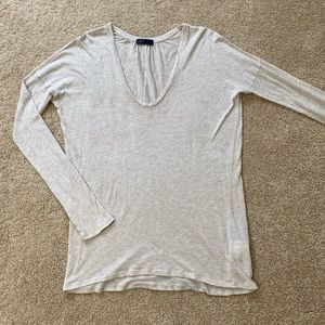 Gap Scoop Neck Dropped Shoulder T-shirt